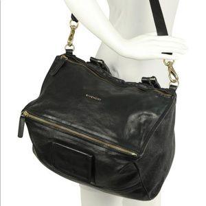 Givenchy large black pandora bag